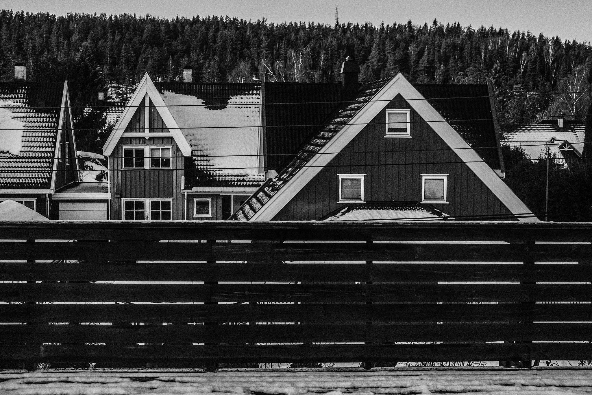 Roofs of The North  by Goran Jorganovich