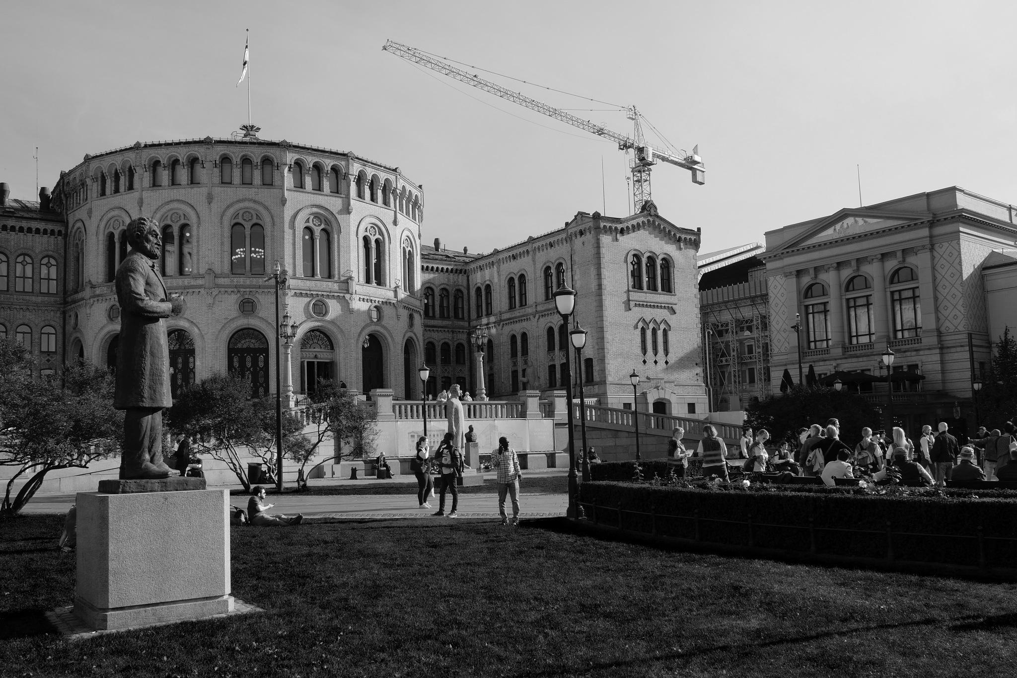 STORTINGET - Norwegian Parliament by Goran Jorganovich