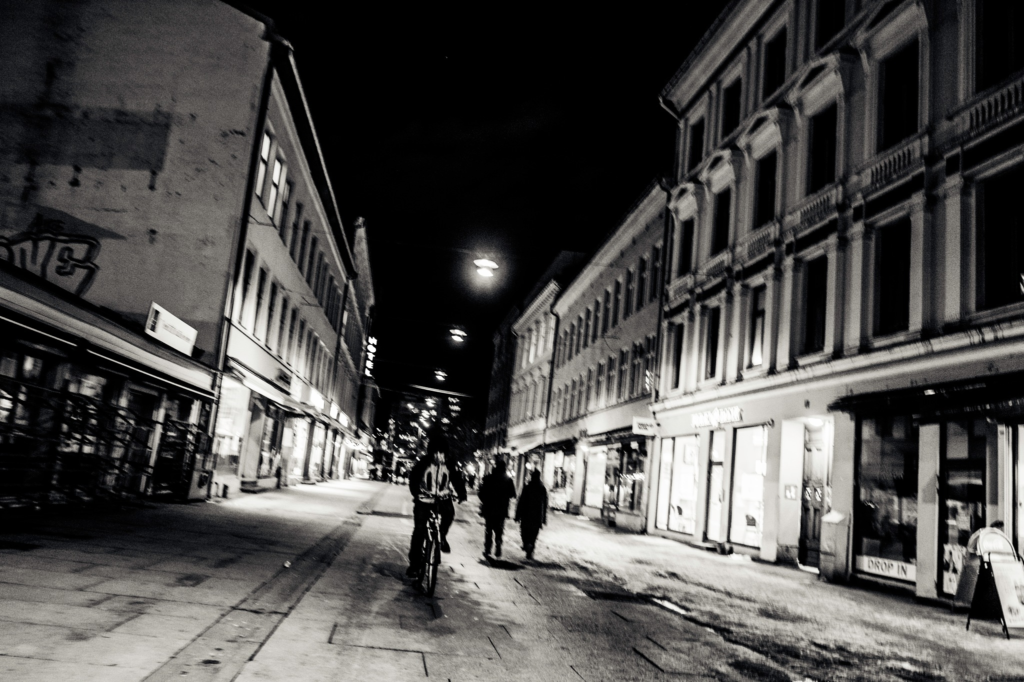 BIKER IN GOTHAM`S  NIGHT  by Goran Jorganovich