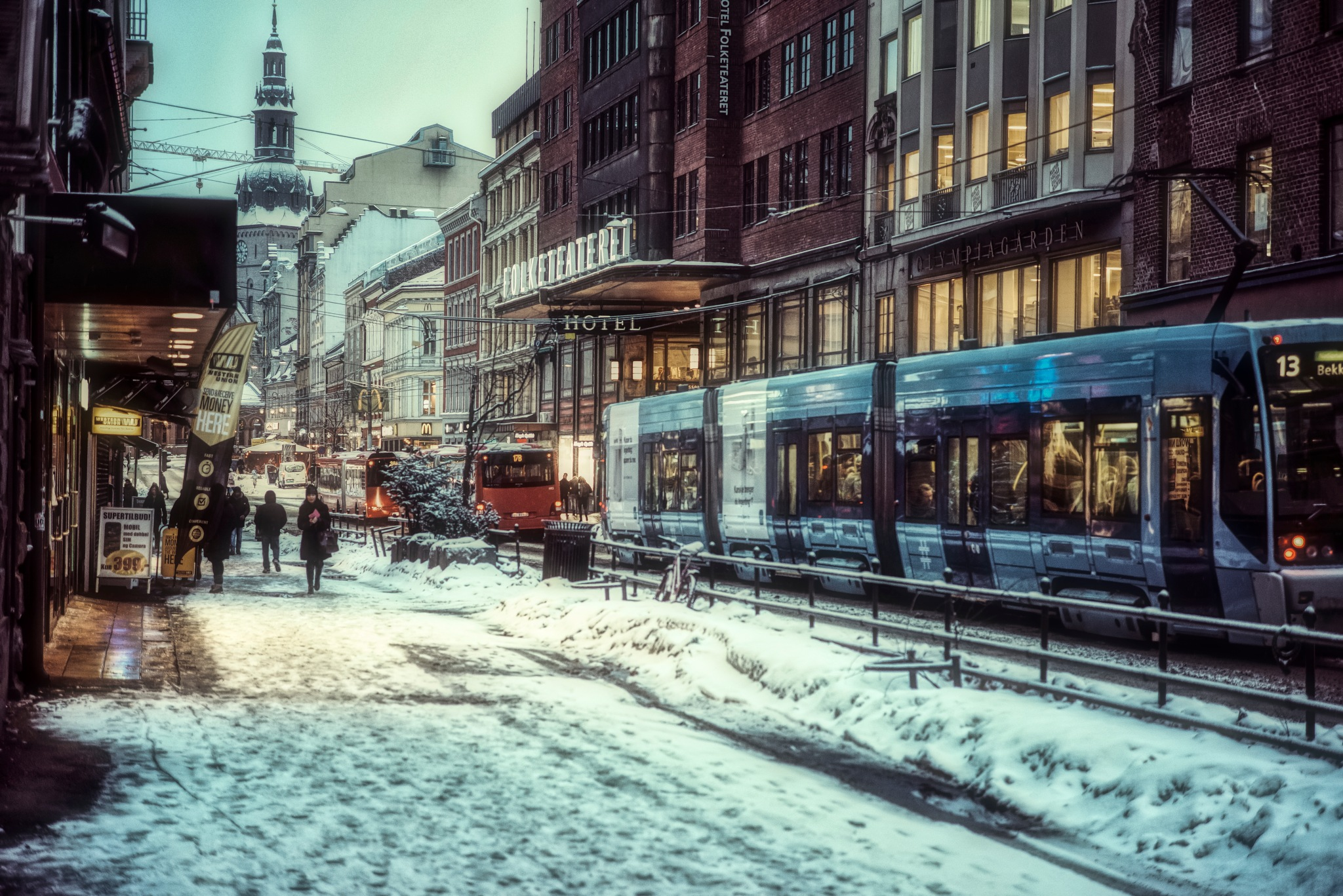 Winter is coming to The North-Oslo by Goran Jorganovich