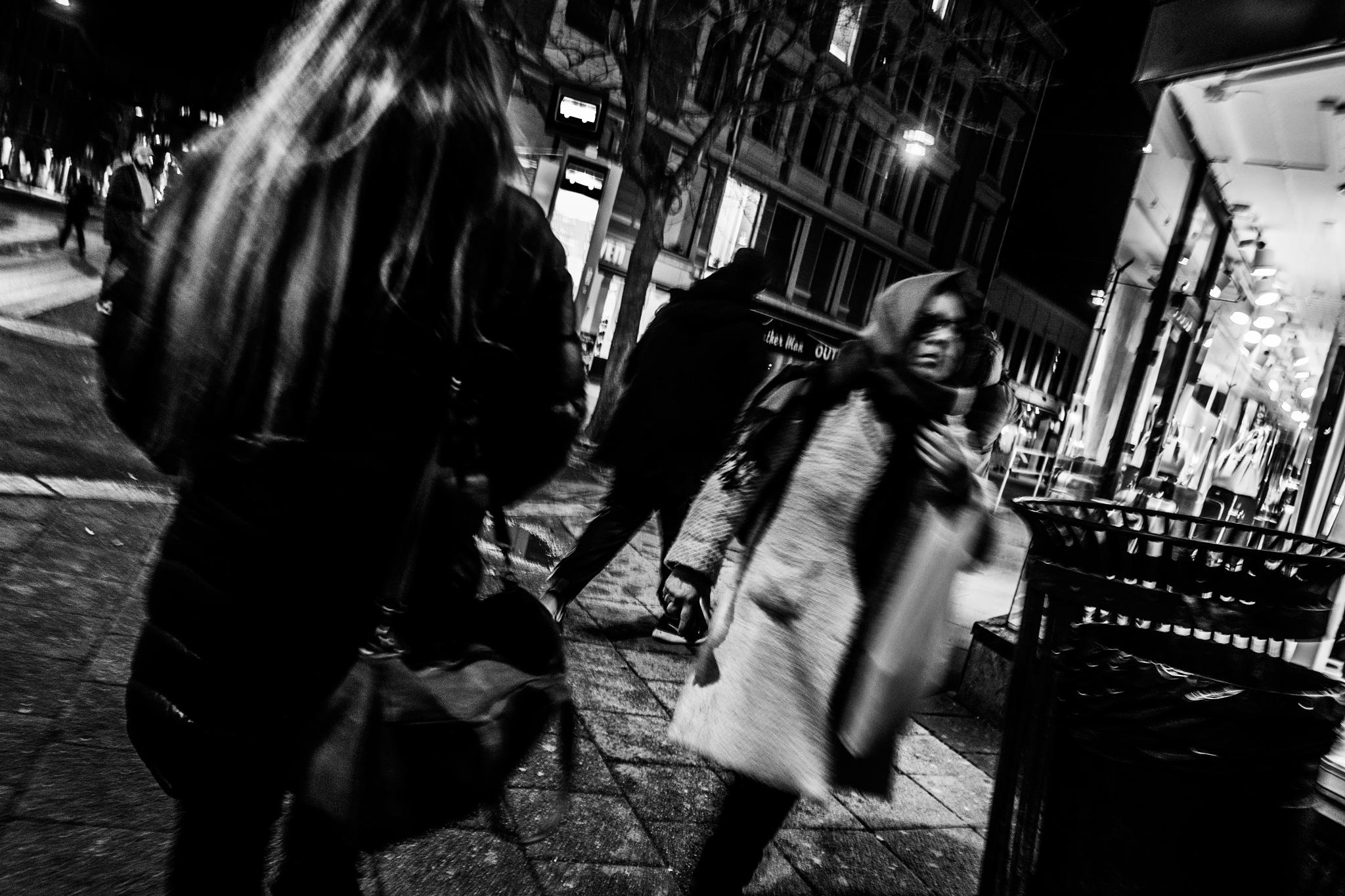 NIGHT FACES IN GOTHAM CITY by Goran Jorganovich