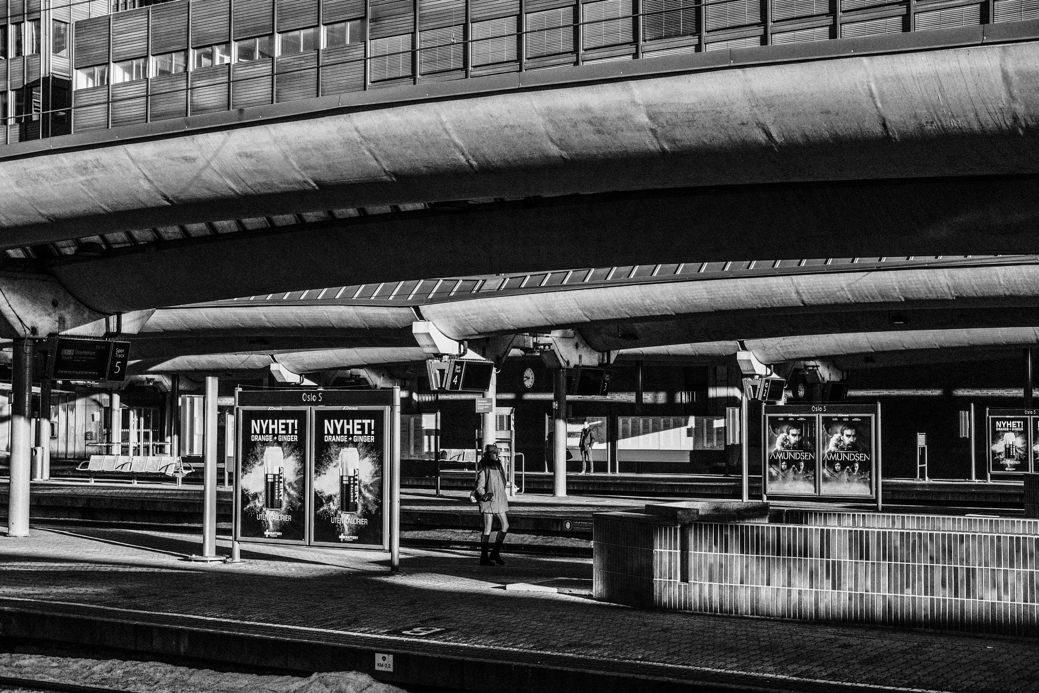Lonely Commuters by Goran Jorganovich