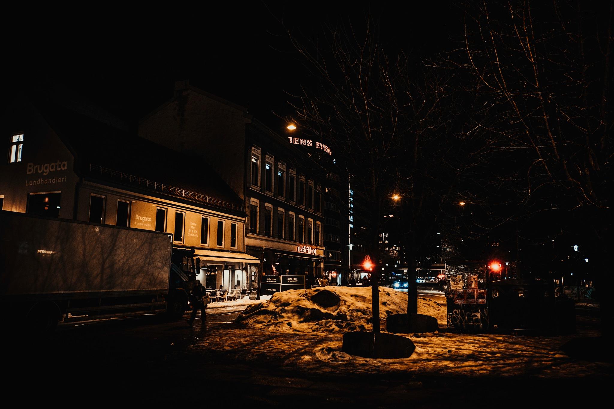 NIGHT LIGHTS OF GOTHAM CITY  by Goran Jorganovich