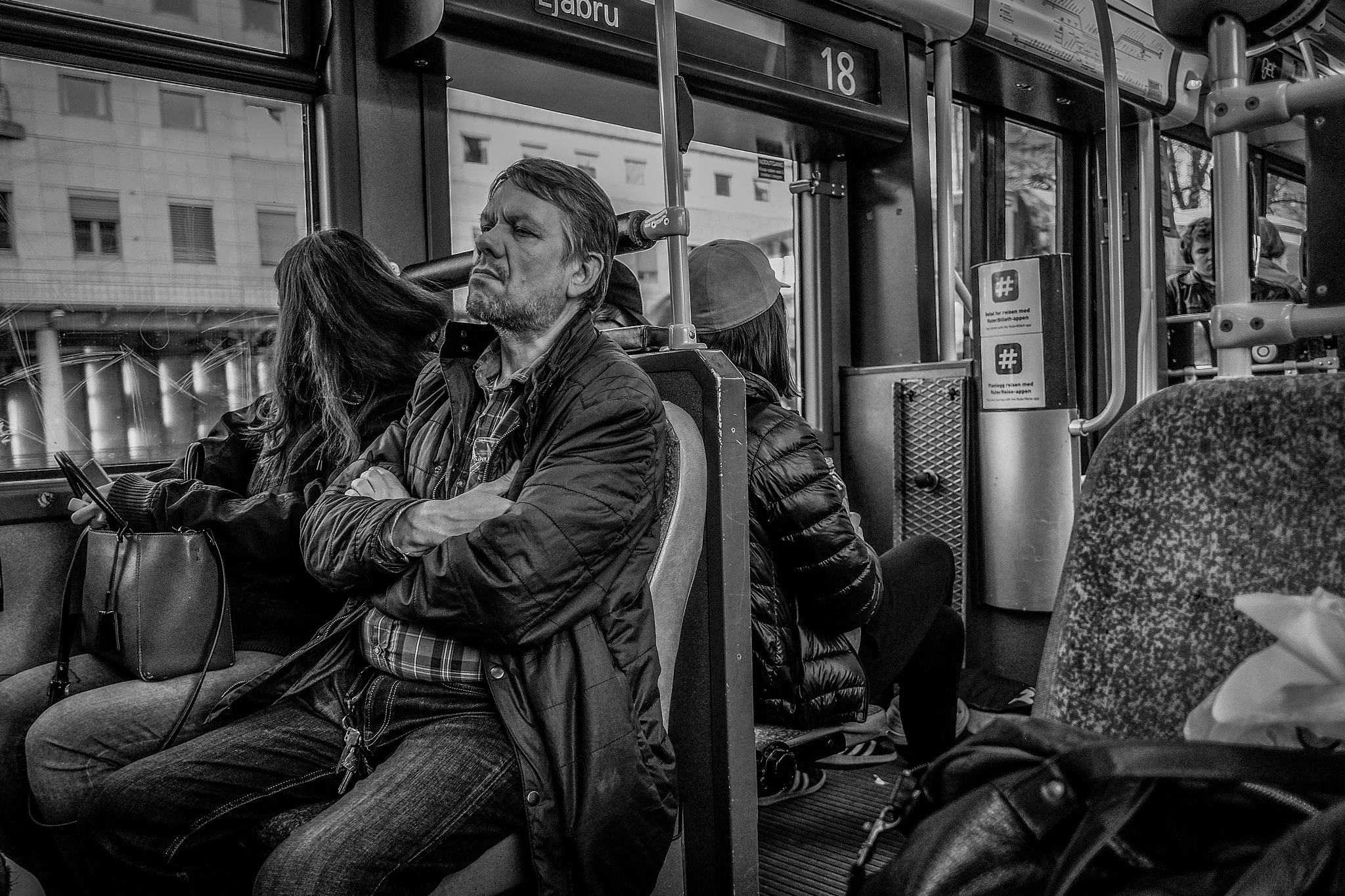 In The Tram from The North by Goran Jorganovich