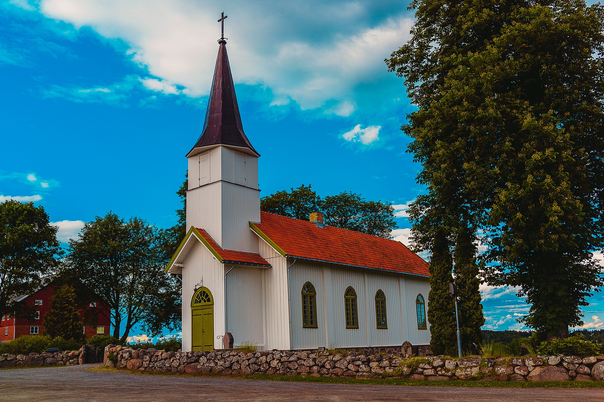Norwegian Protestant Church by Goran Jorganovich