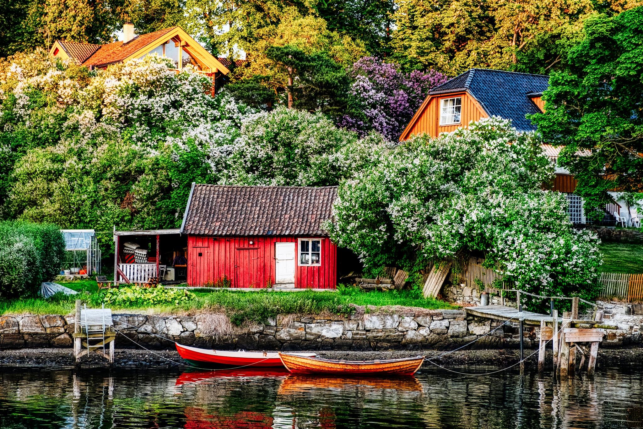 Idyll at Oslo fjord -NORWAY by Goran Jorganovich