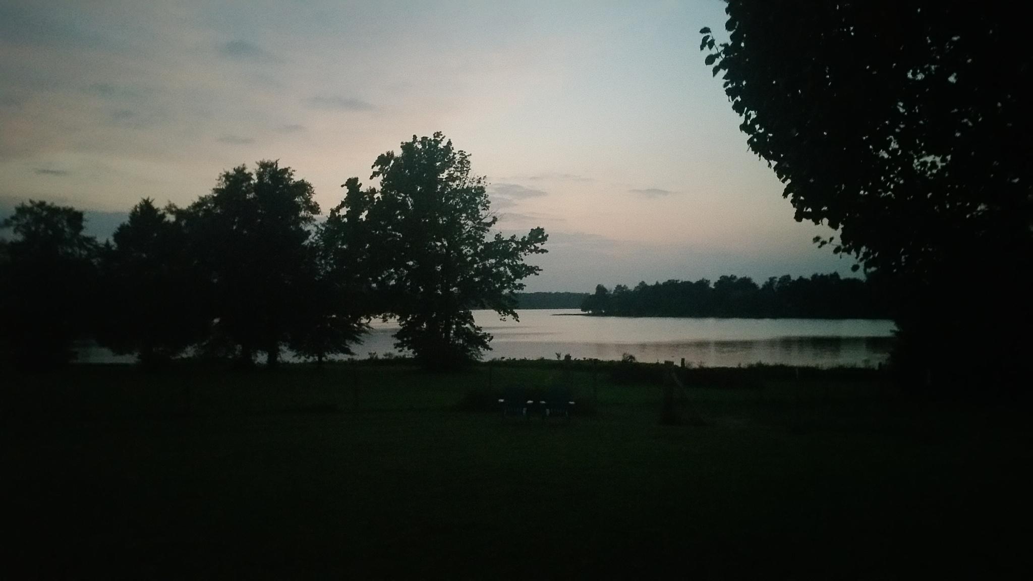 Lake View Sunset by Nicholas C.