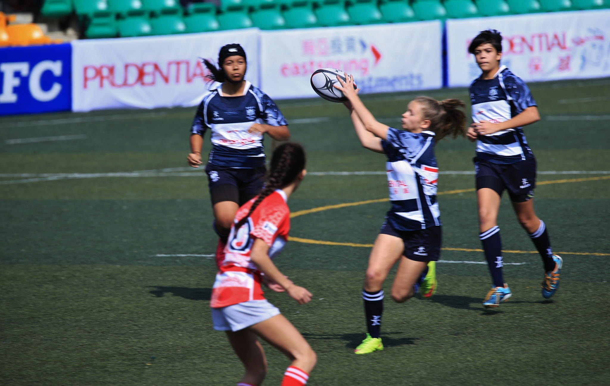 2016 Girl's Rugby tournament in Hong Kong. Jan.,1,2016. by samip75