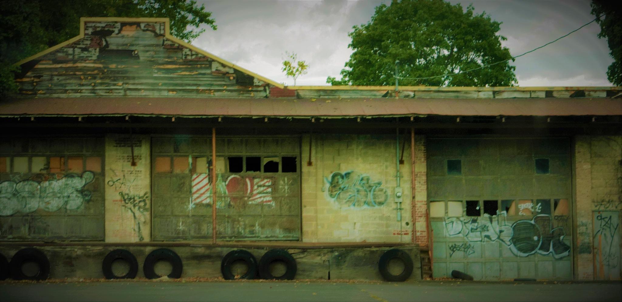Industrial Strength Garage by RichardJTreitner