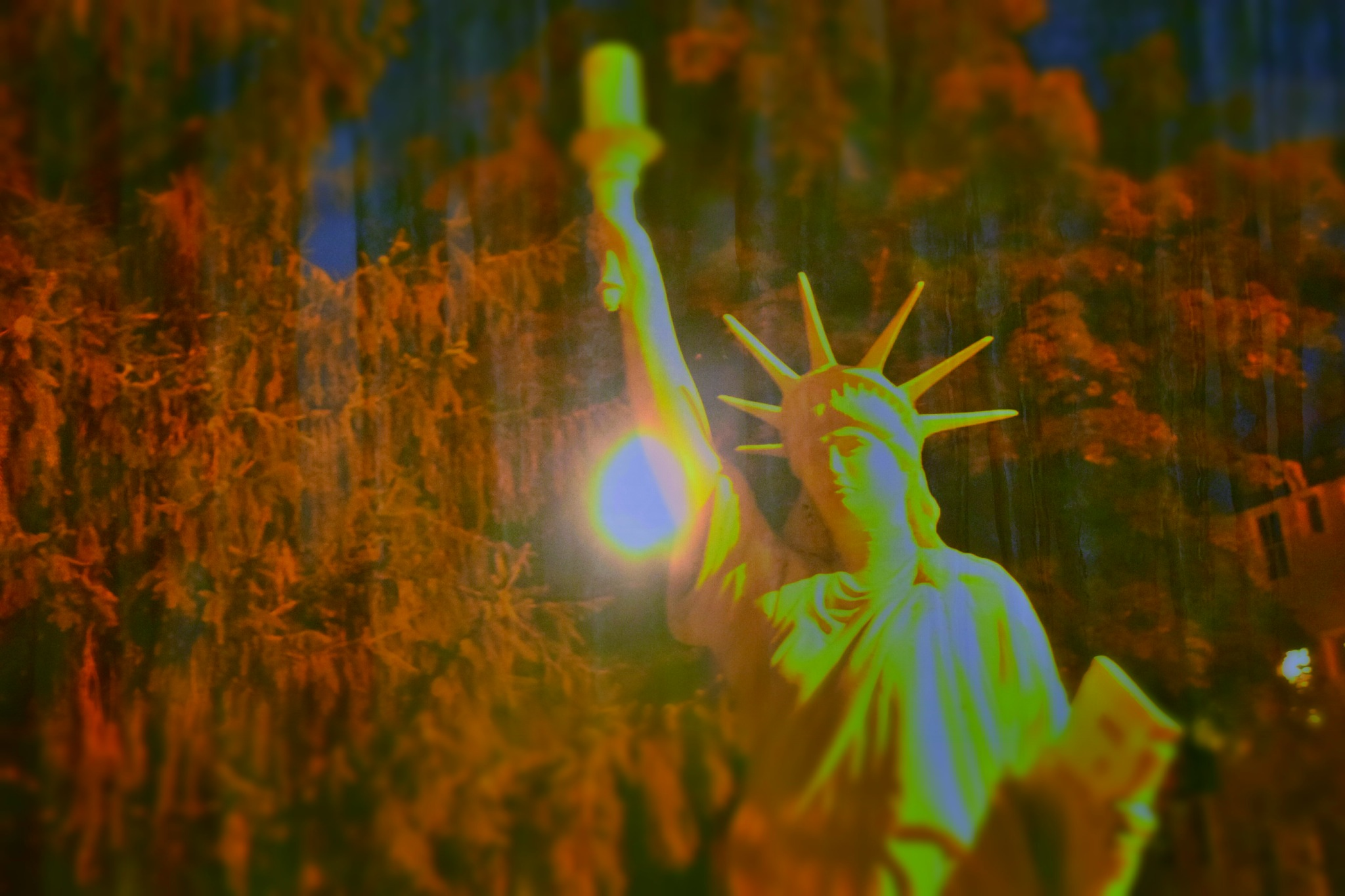 Night Falls On Liberty by RichardJTreitner