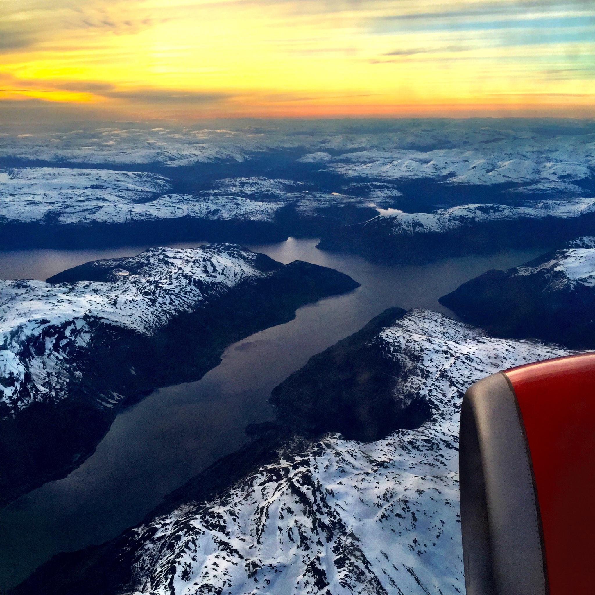 Winter-flying in Norway by Jan-Petter Dahl