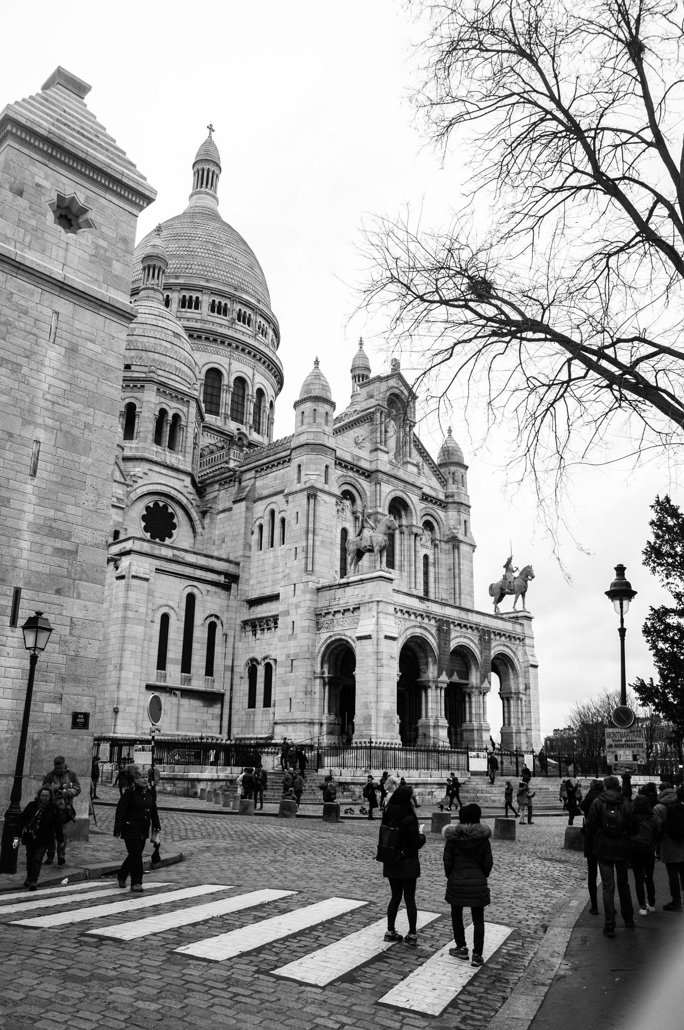 Sacré Coeur de Paris by lizanagajardo