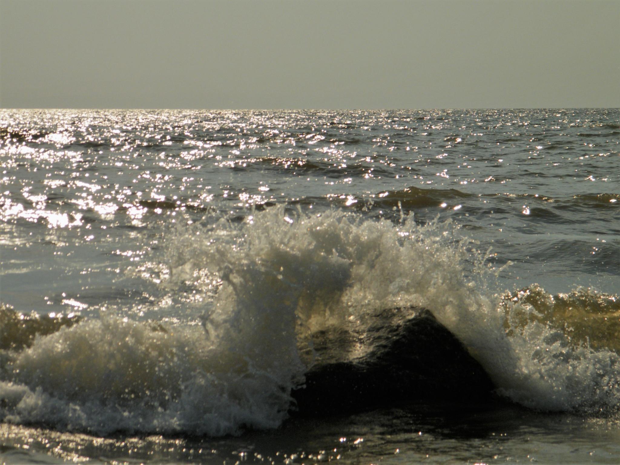 big wave by Ivars Duntavs