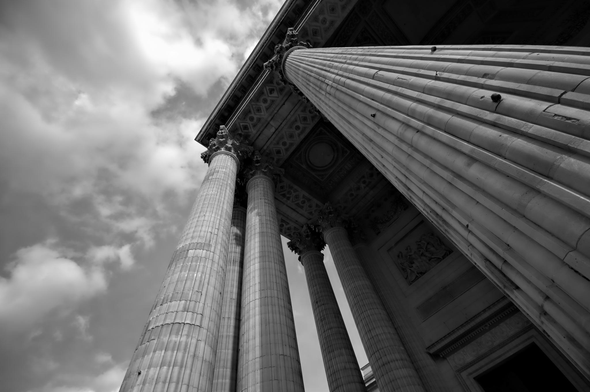 Pantheon Paris (b/w) by thorgal7730