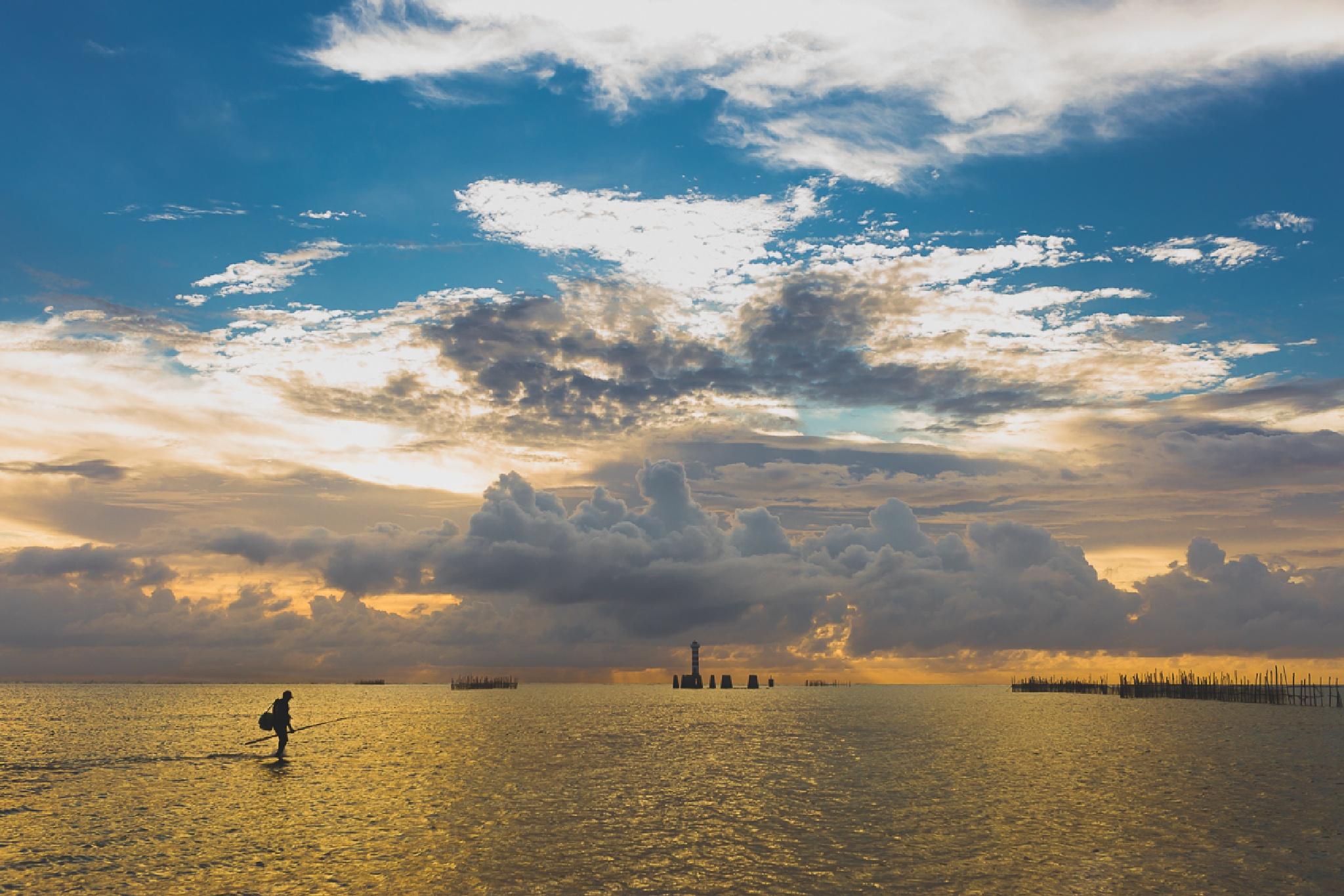 The fisherman by Renner Boldrino