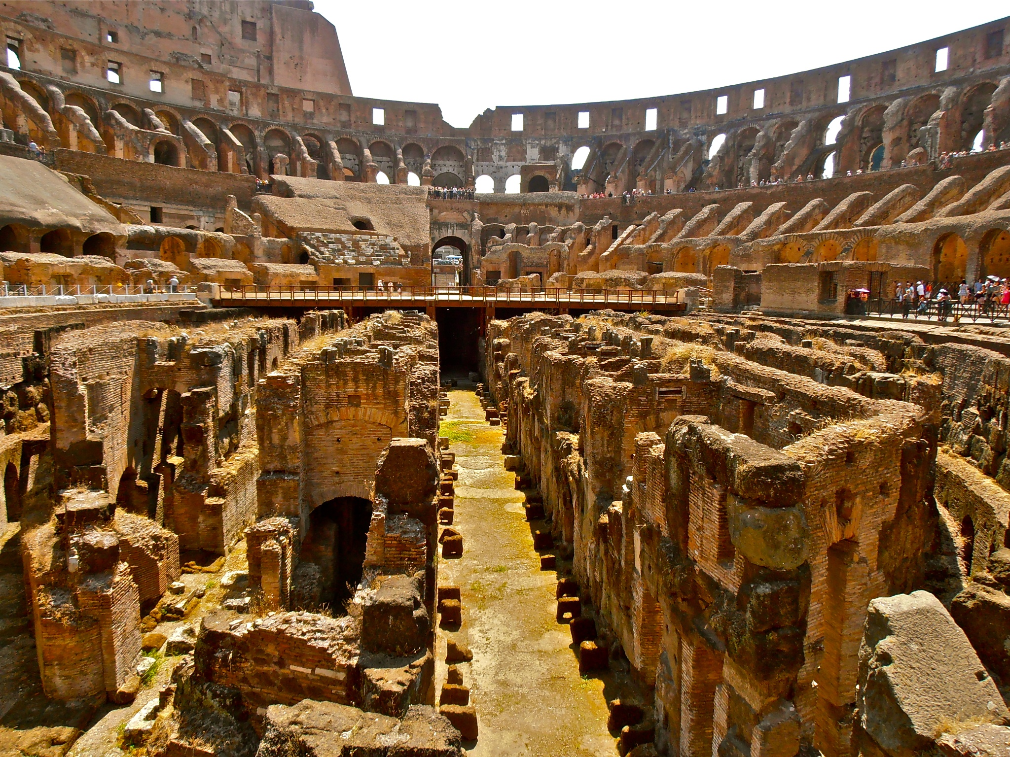 Inside the Colosseum by Dejan&Milica