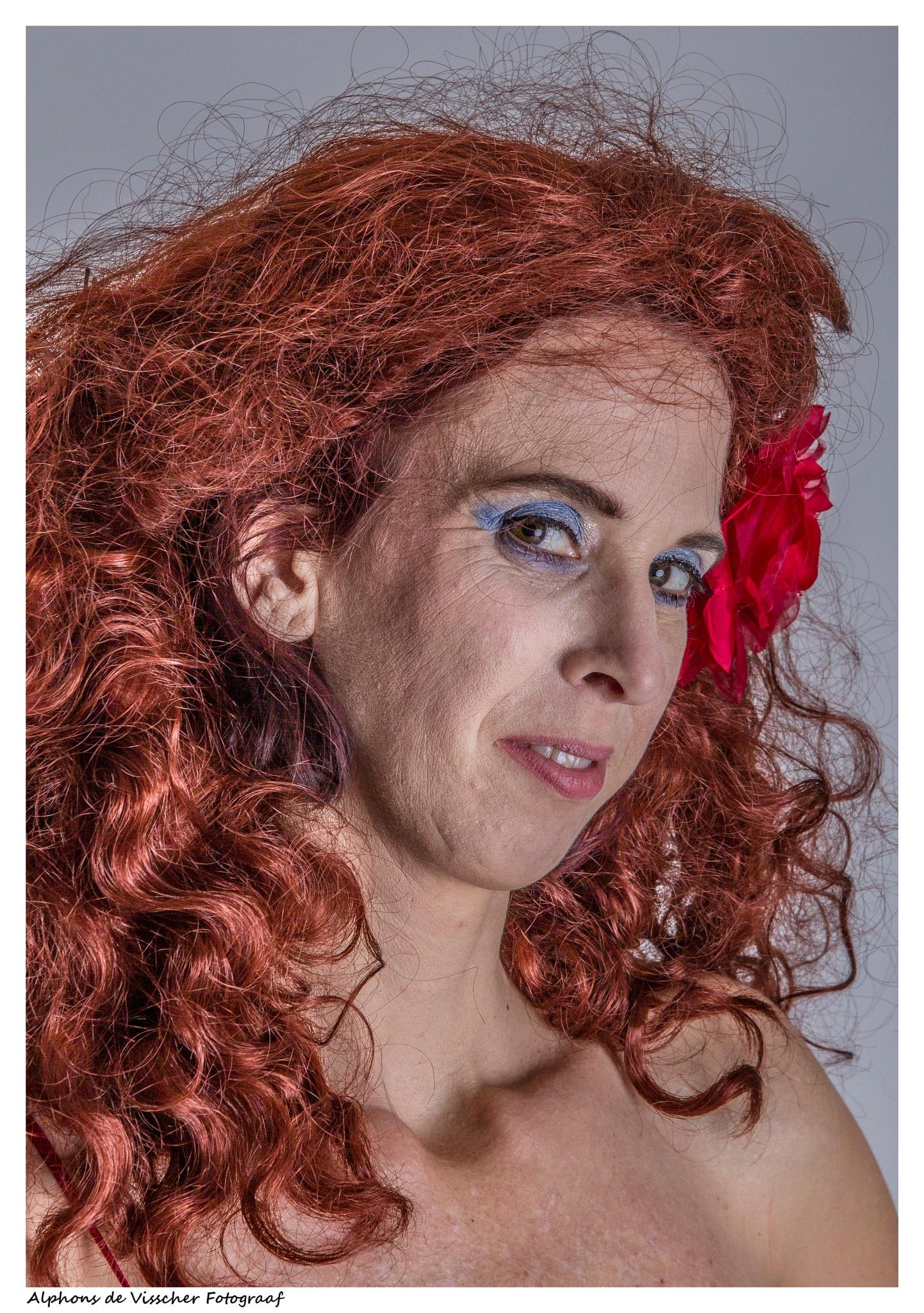Redhead by Alphons de Visscher Fotograaf