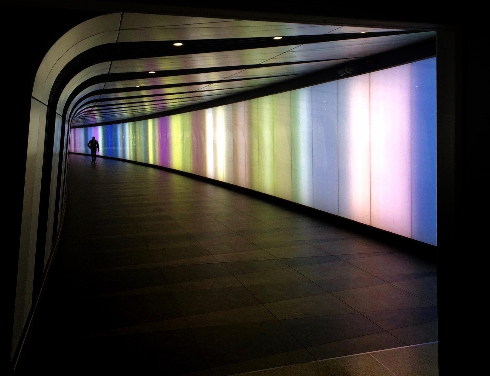 Subway Rainbow by PaulWhiteman