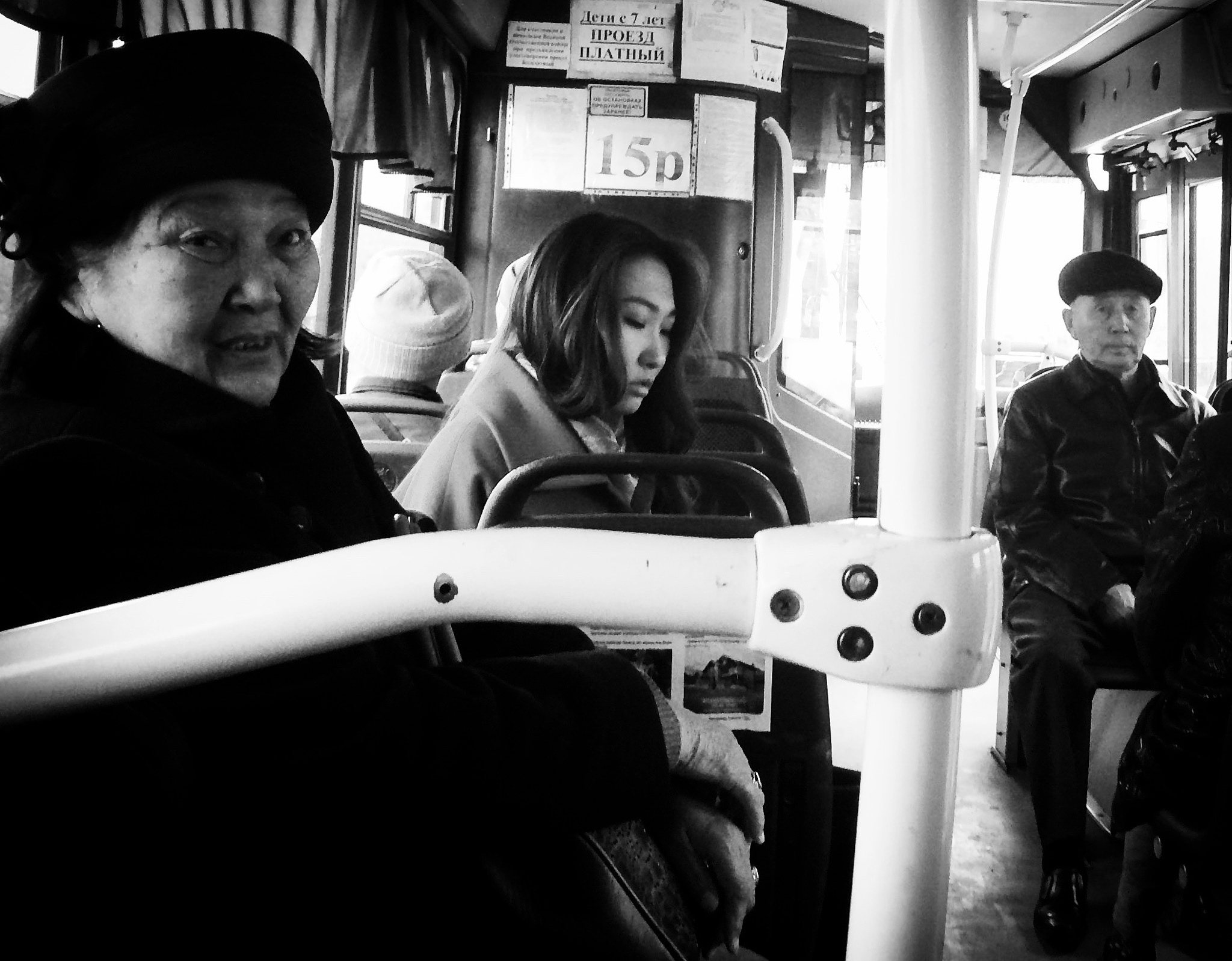 On The Bus in Ulan-Ude by PaulWhiteman