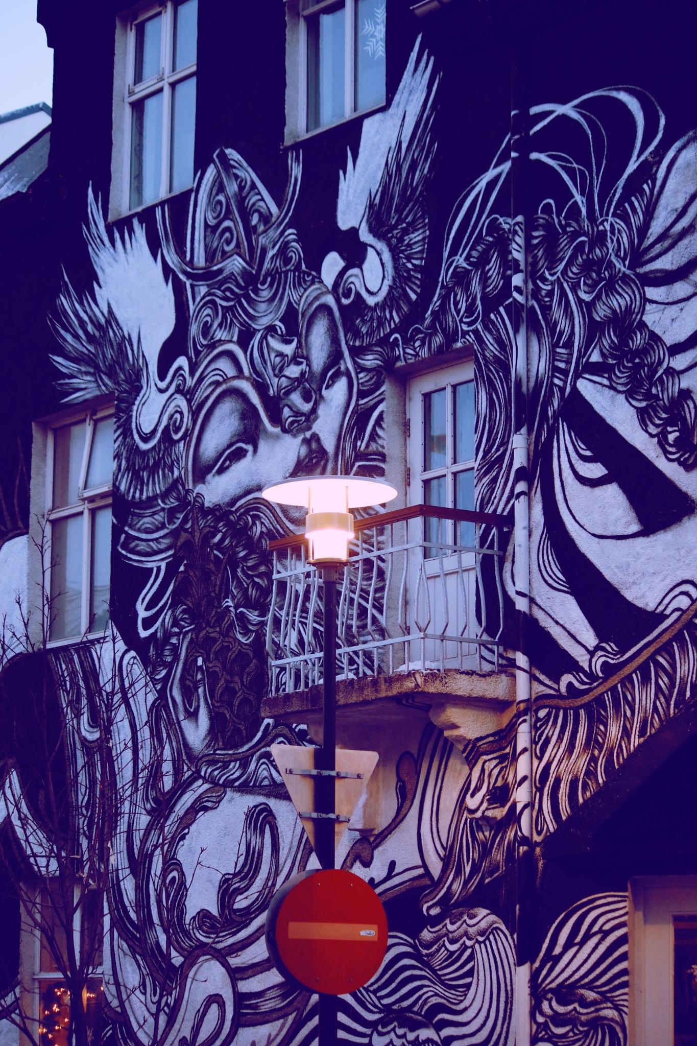 Street Art In Iceland by PaulWhiteman