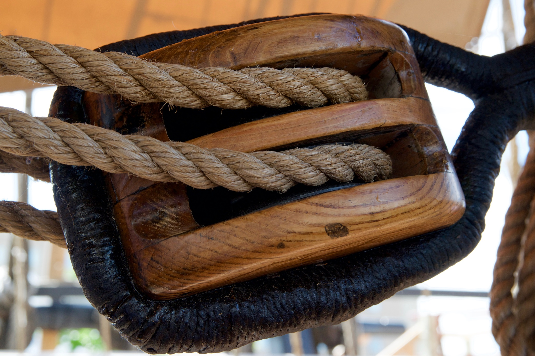 Block & tackle by John  Lepisto