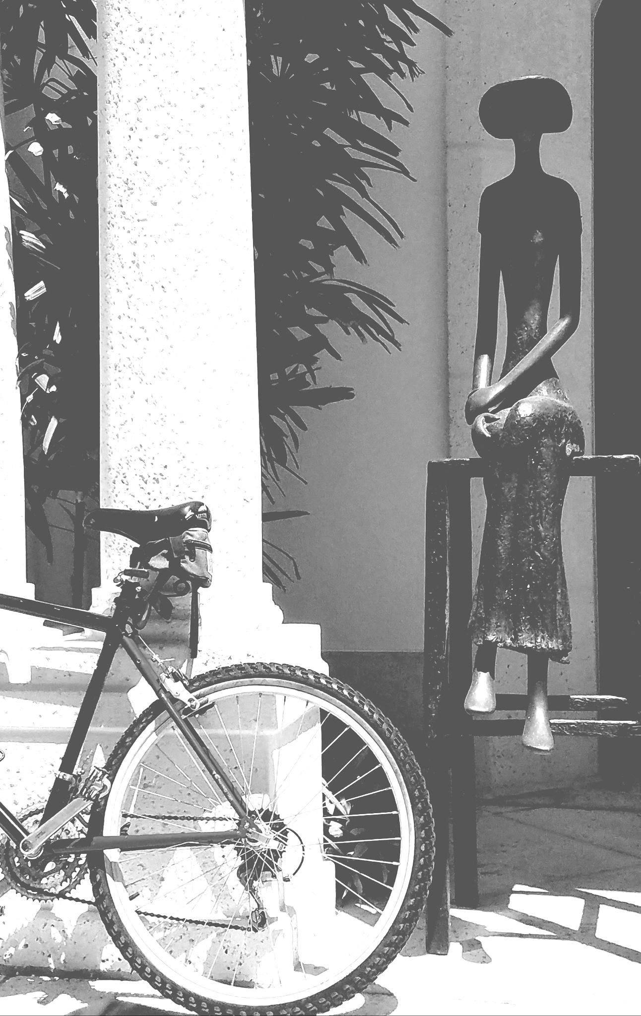 Rider's rest by Reinhard Marton