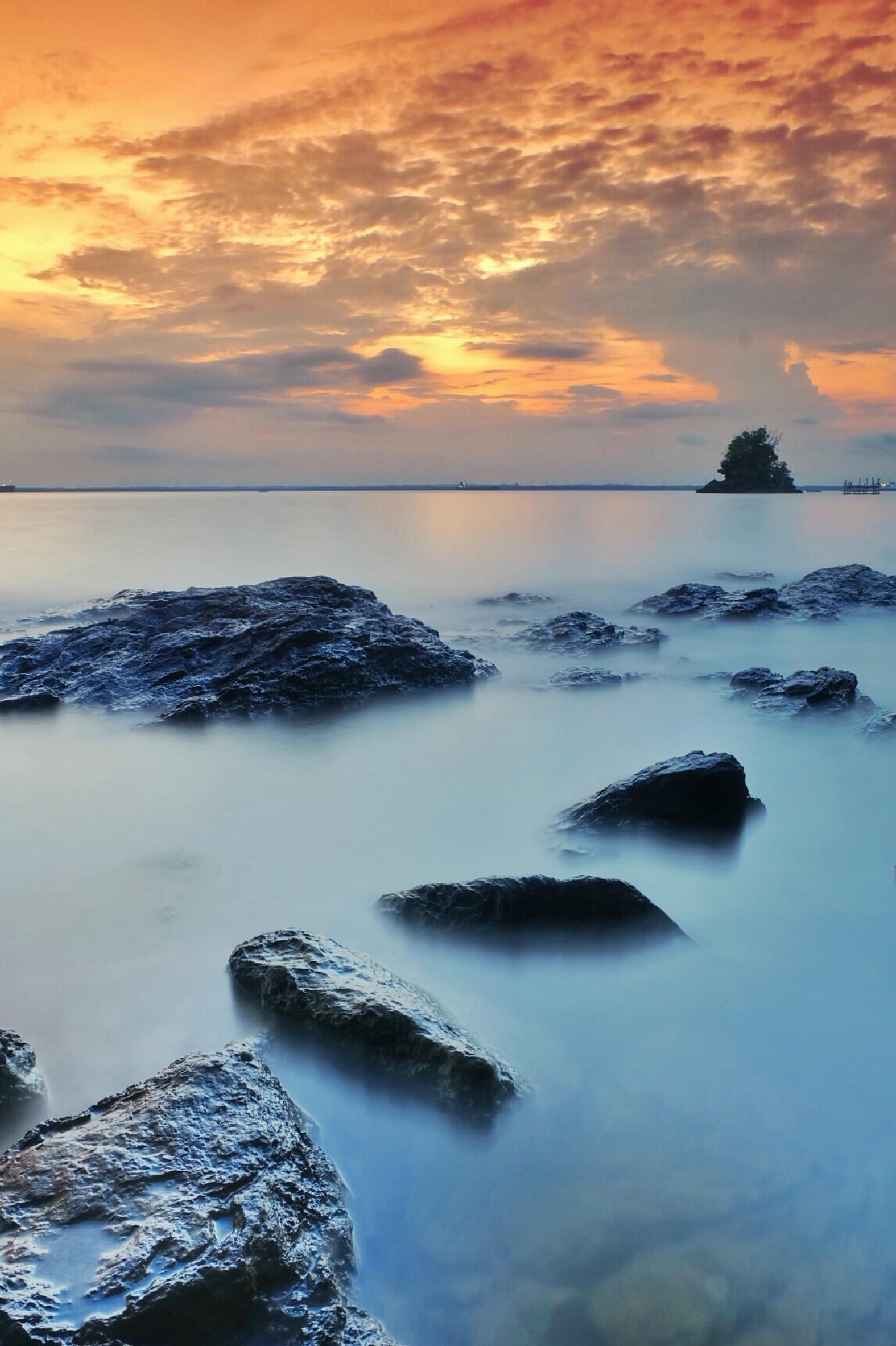 sunset  by aditkoepra