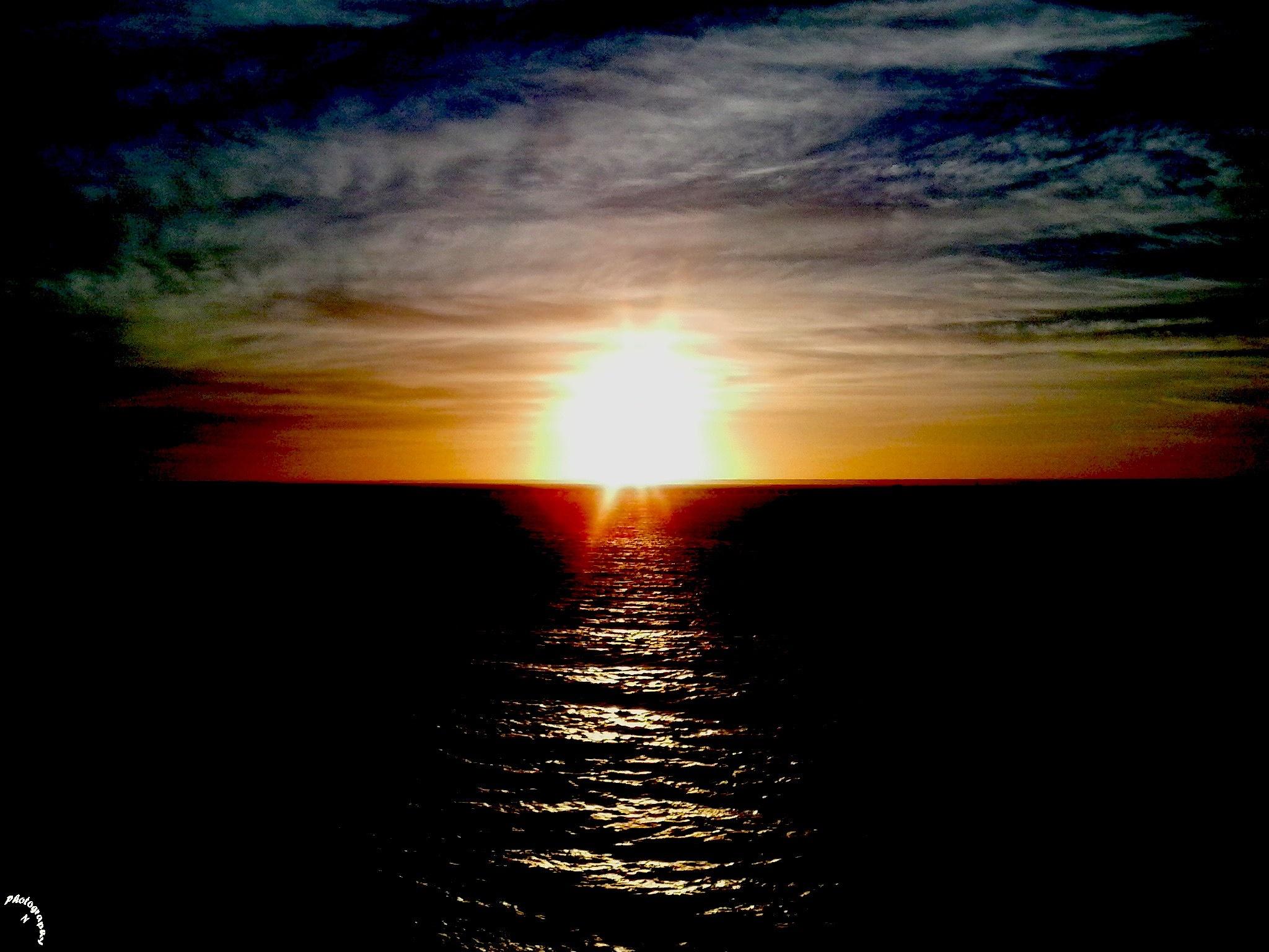 Sunset by nabeelnabil