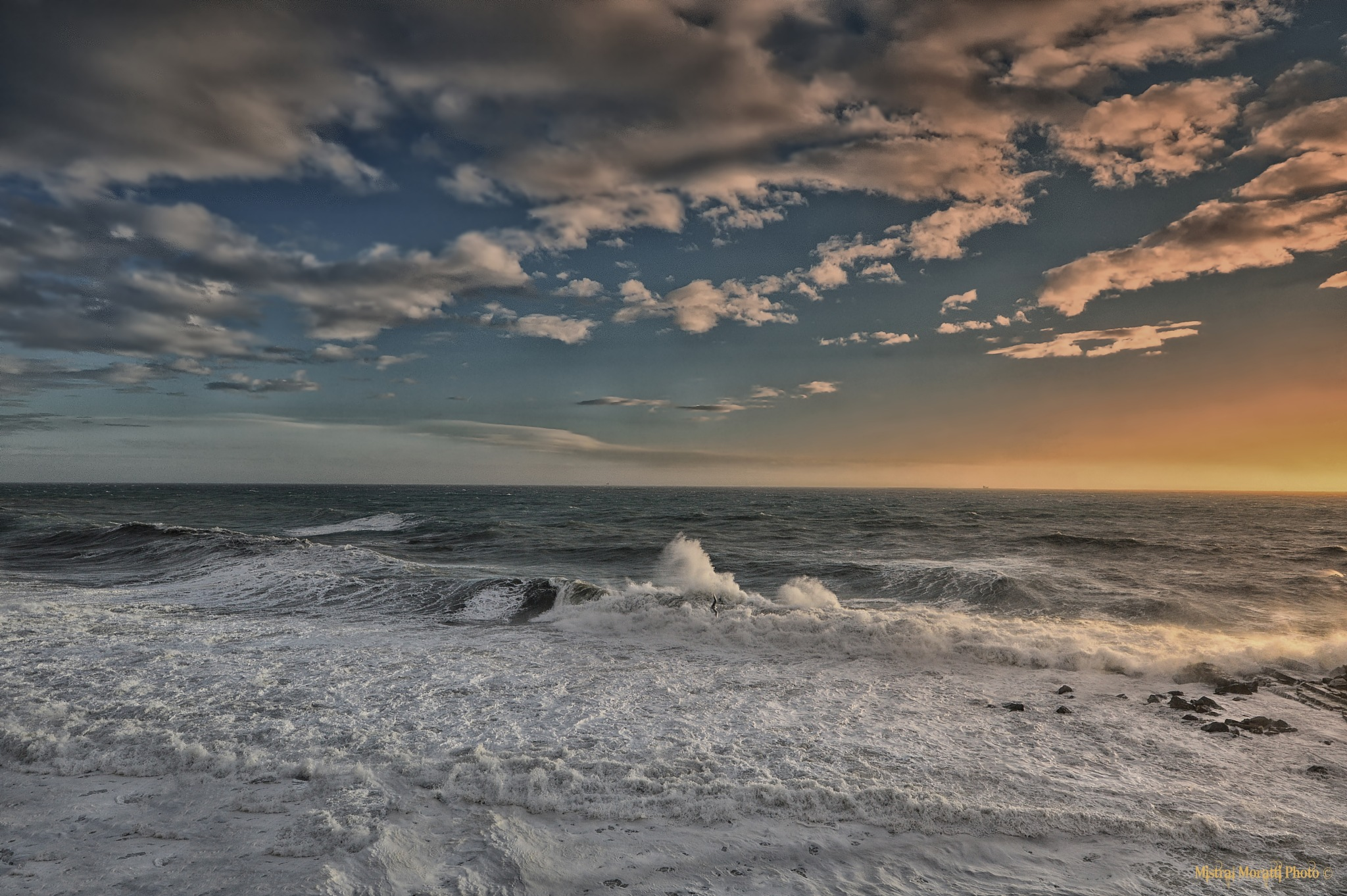 Stormy sea II by Mistral Moratti