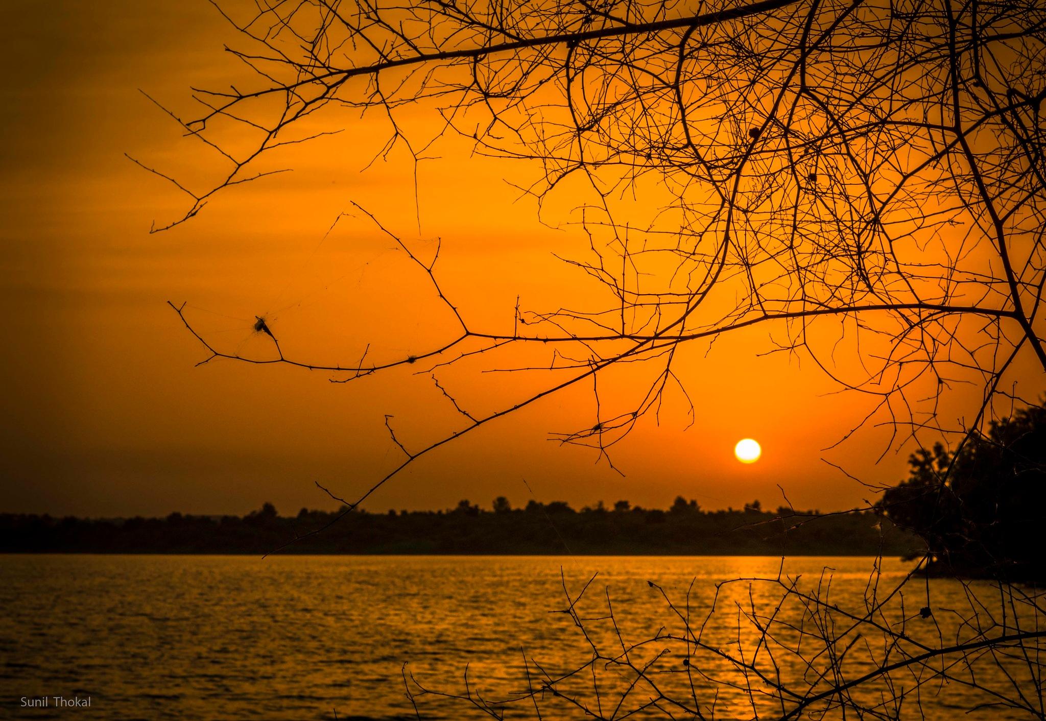 Sunset by Sunil Prabhakar Thokal