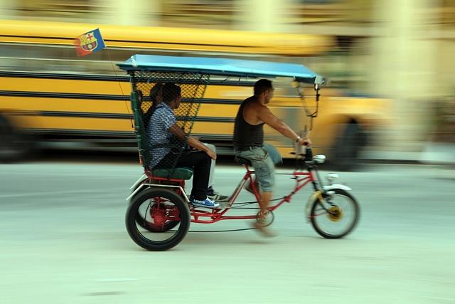 Havana Taxi by Dave Atherton