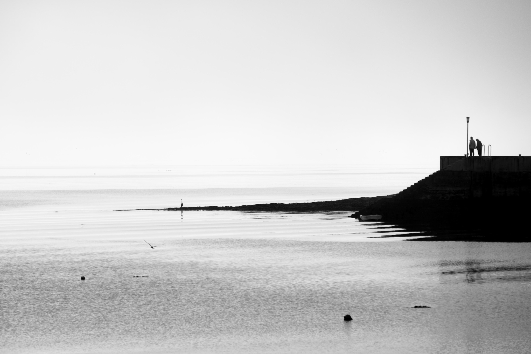 Holy Island Mist by Dave Atherton