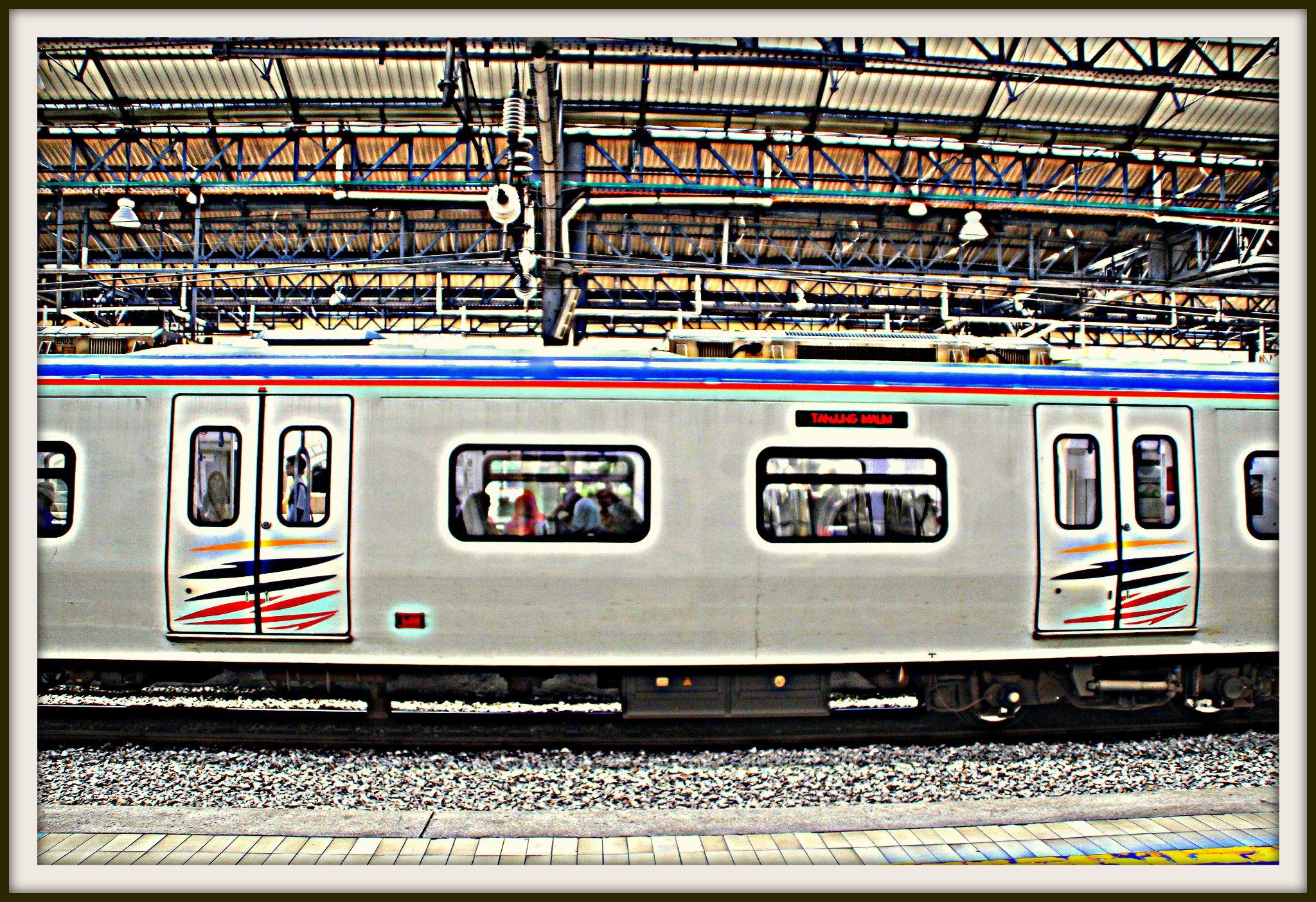 Half train by fragranceumlee
