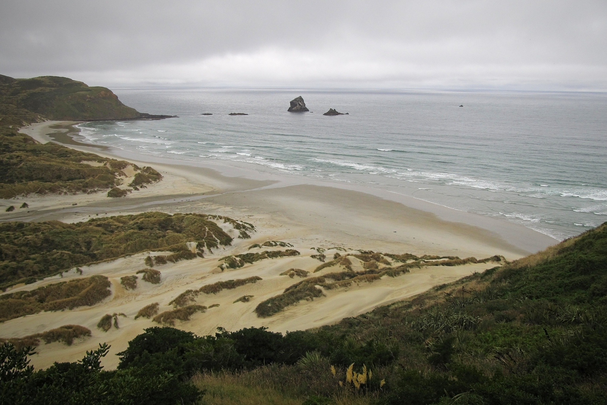 sandfly bay by koaxial