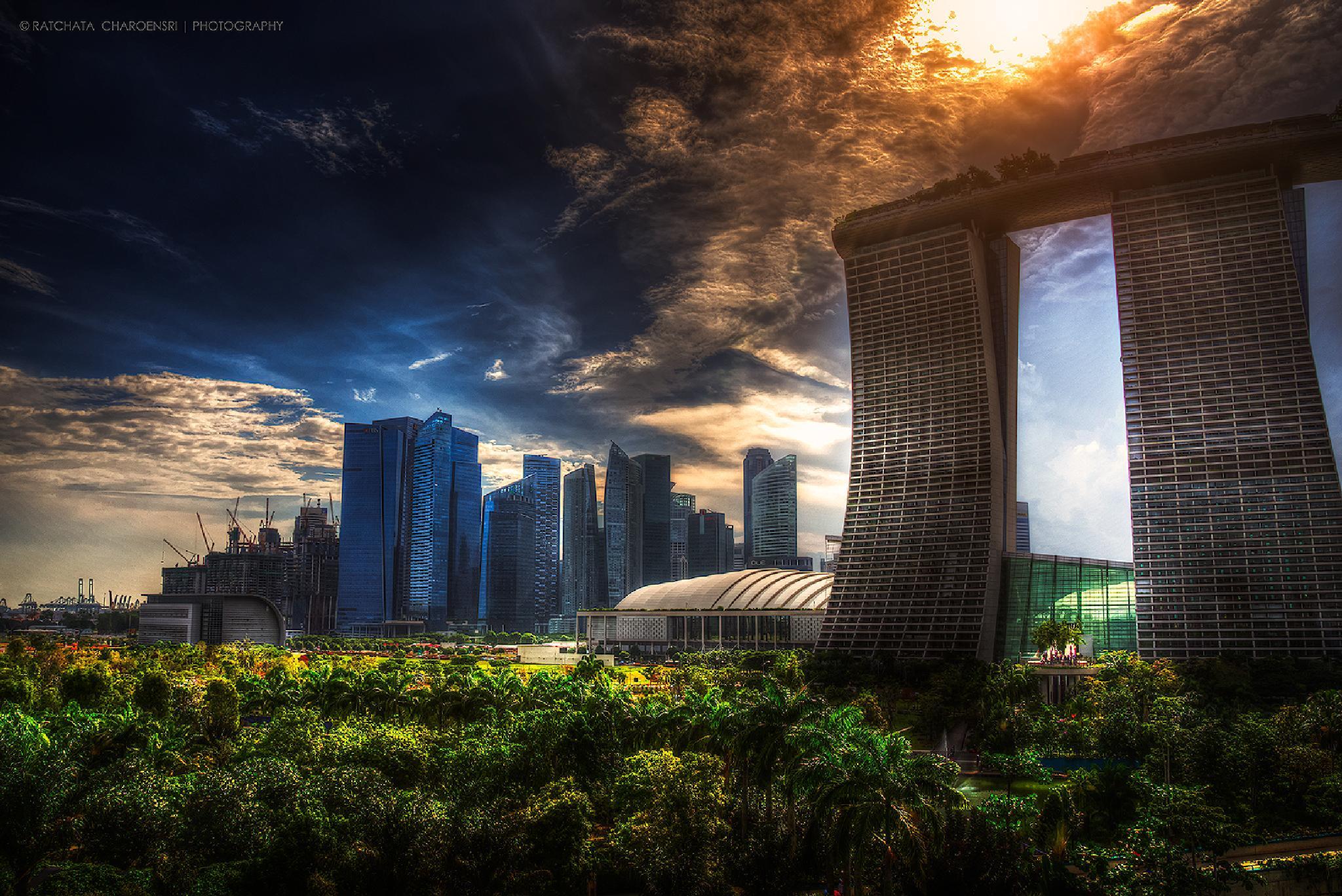 Marina Bay Sands by ratchatacharoensri