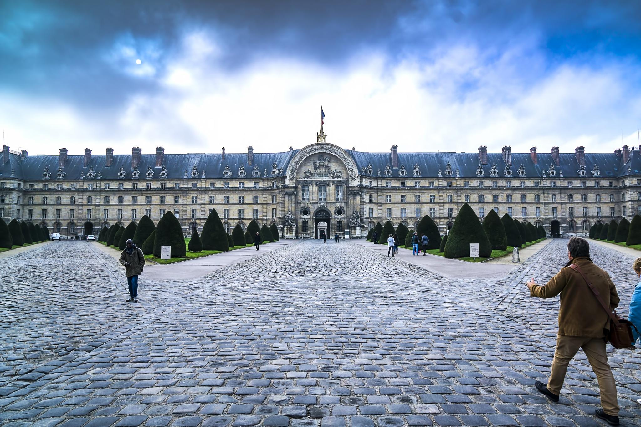 Military Museum, Paris by Chris Lane