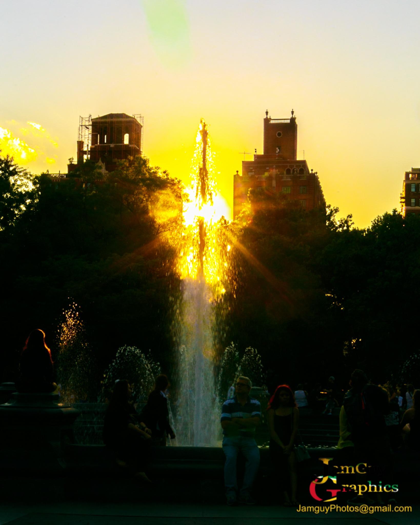 Washington Square Park  by jamguyphotos