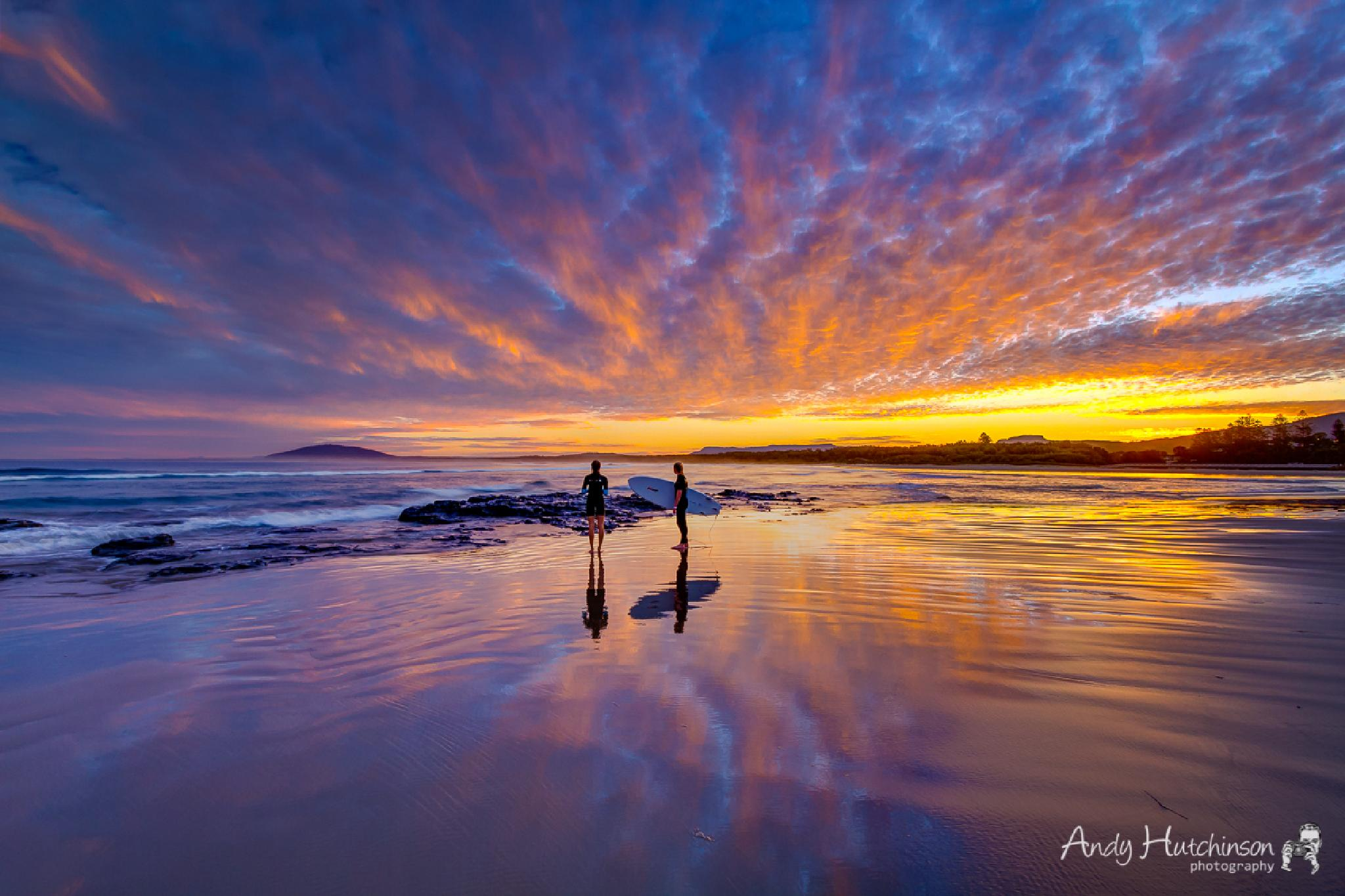 The Last Surfers by Andy Hutchinson