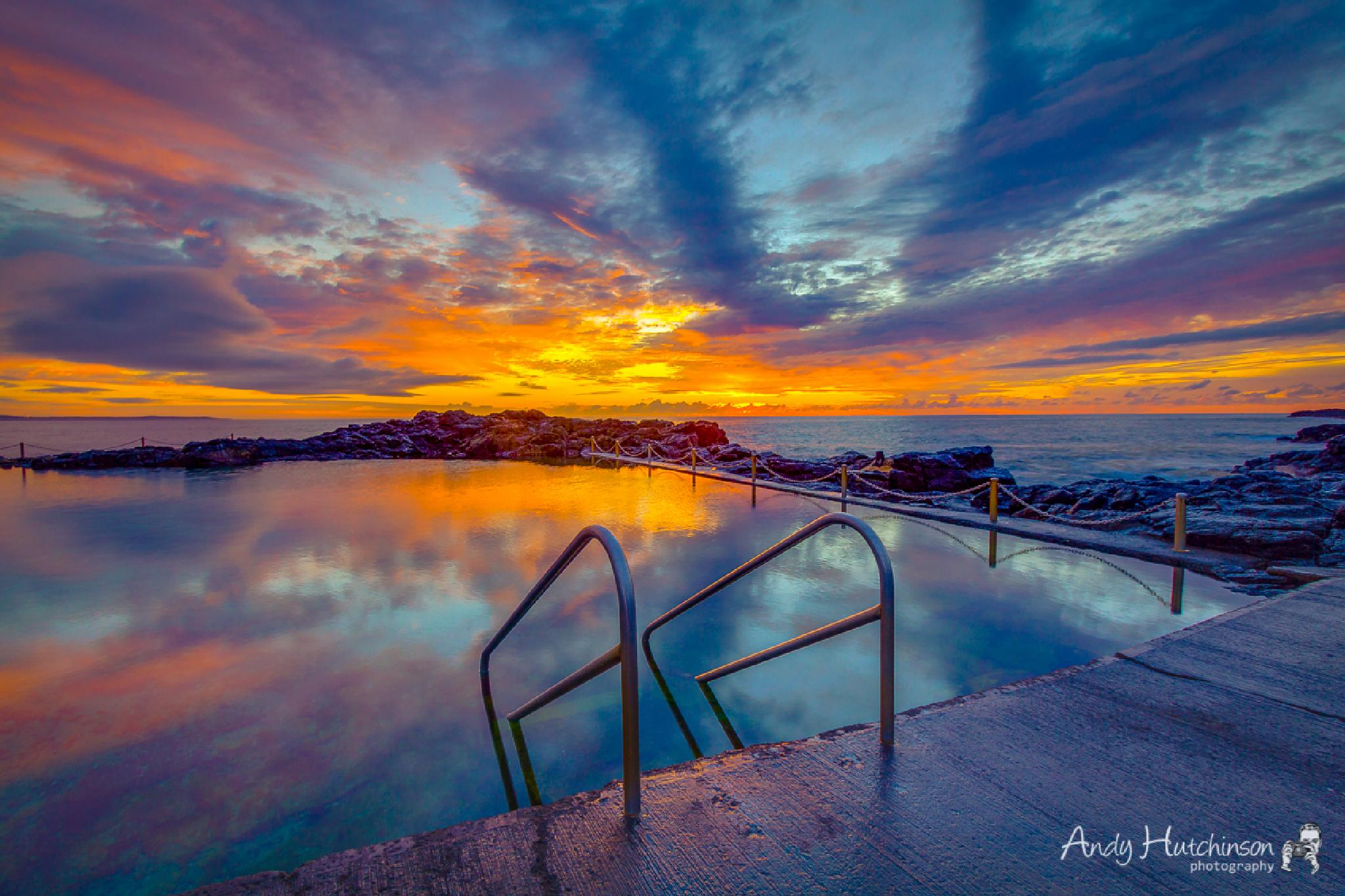 Swim in the Sunrise by Andy Hutchinson