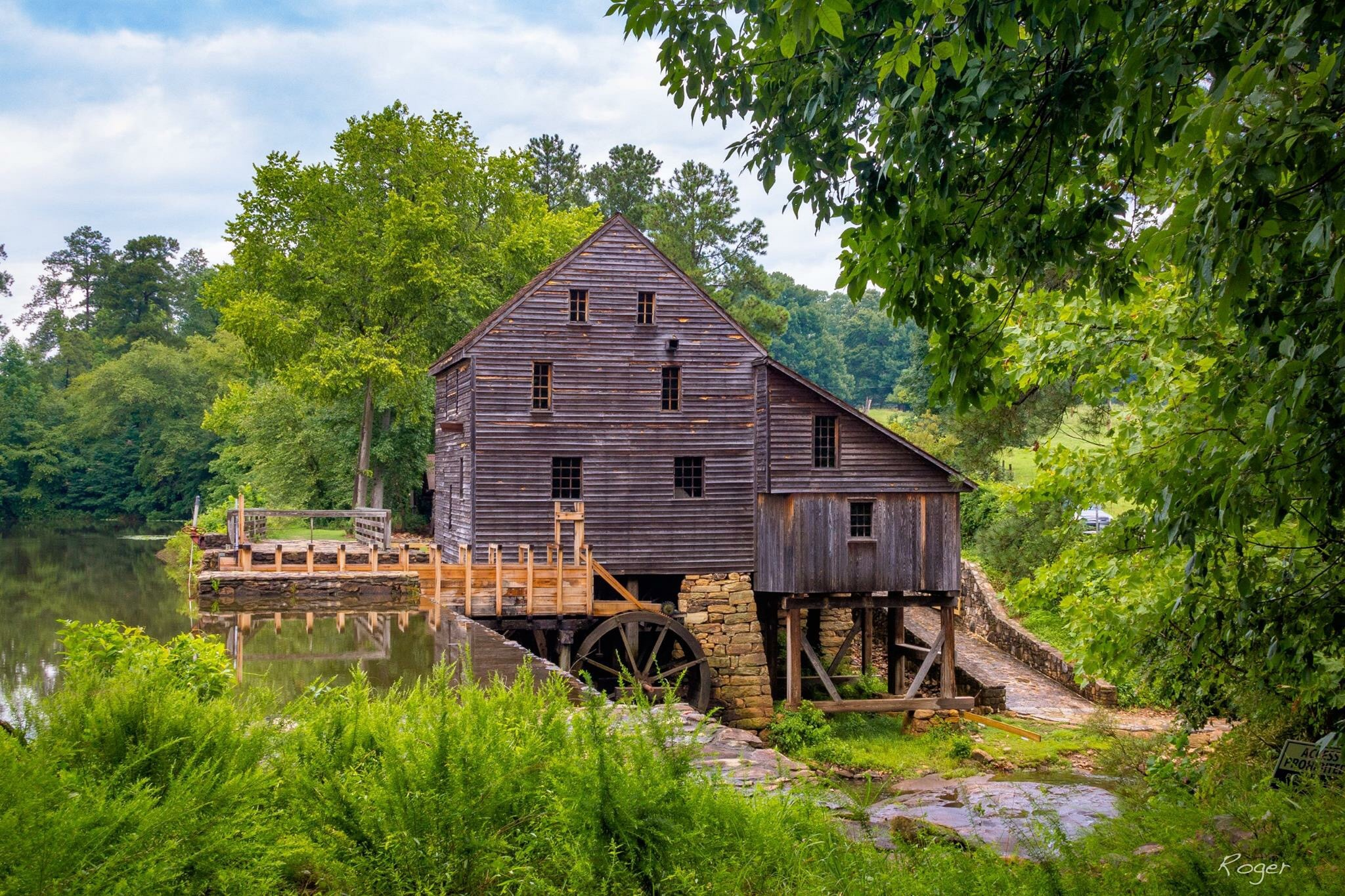 Yates Mill by rogeryounce