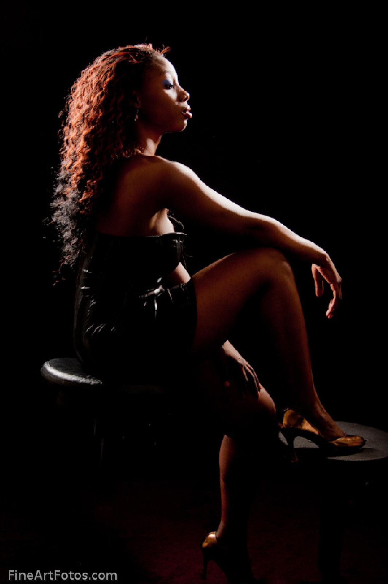 Portrait sitting by flintfotos