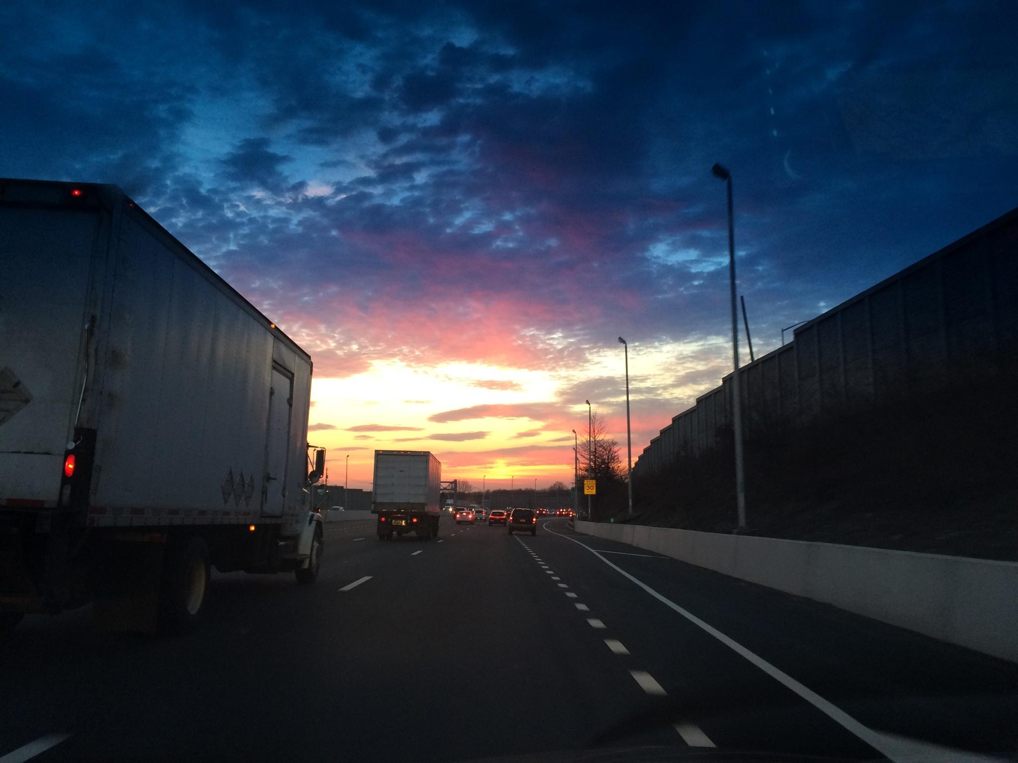 Tonight's sunset by flintfotos