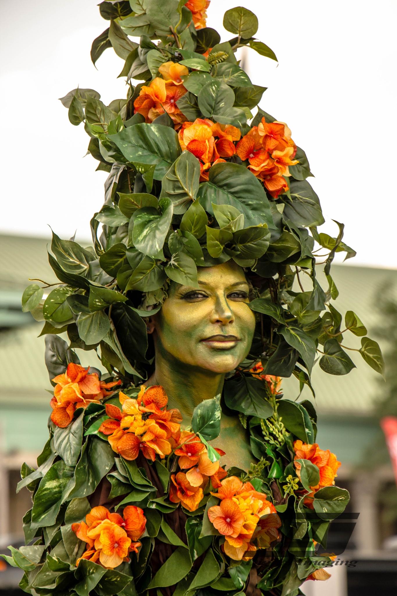 Plant woman by Charles Jorgensen