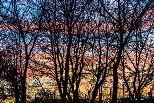Tuscan Sunset by Frank Brande