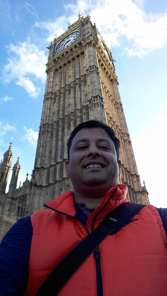 Big Ben and me by avikmukherjeewb