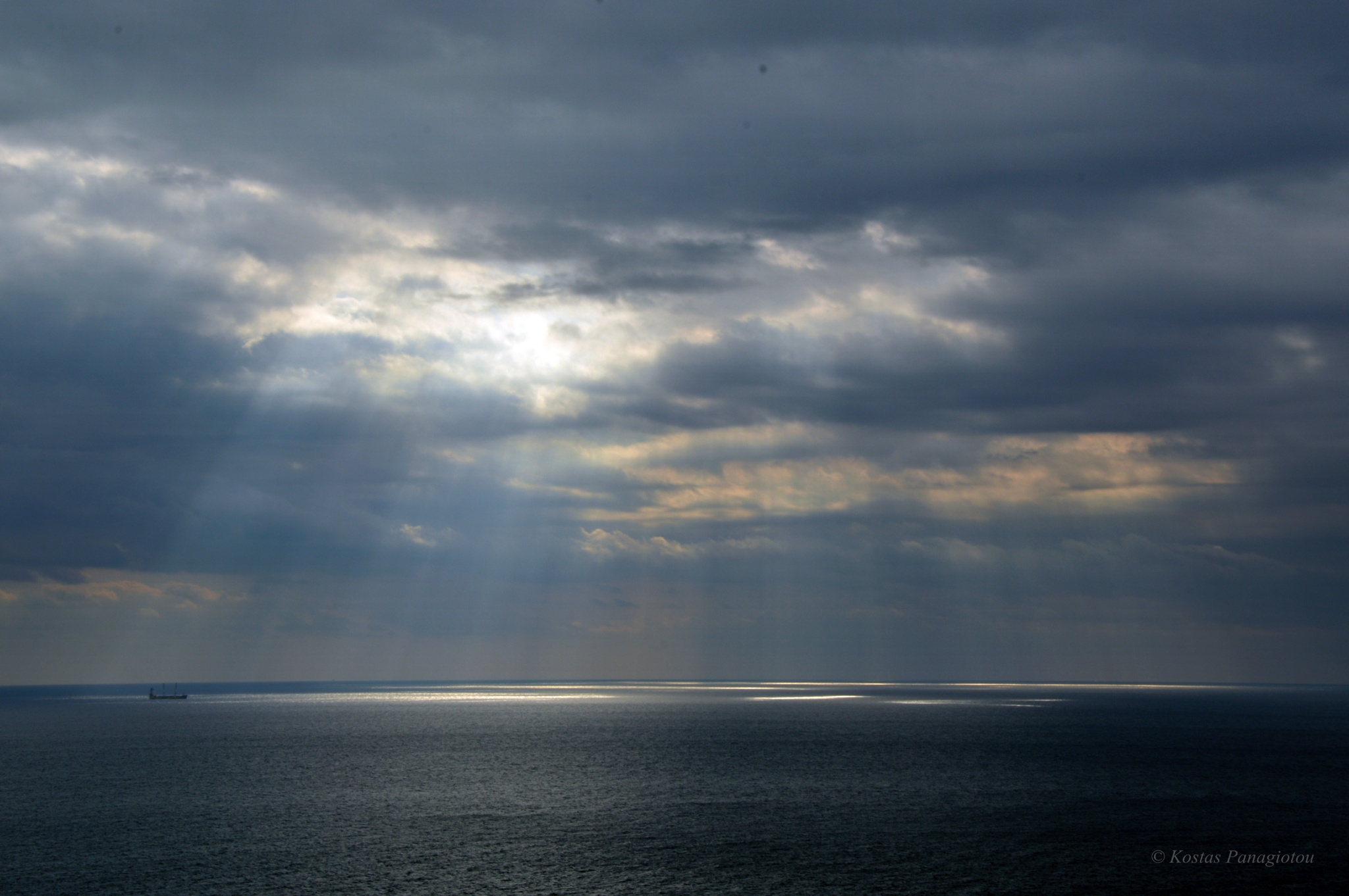 """""""There is a light"""" said the Captain by KostasPanagiotou"""
