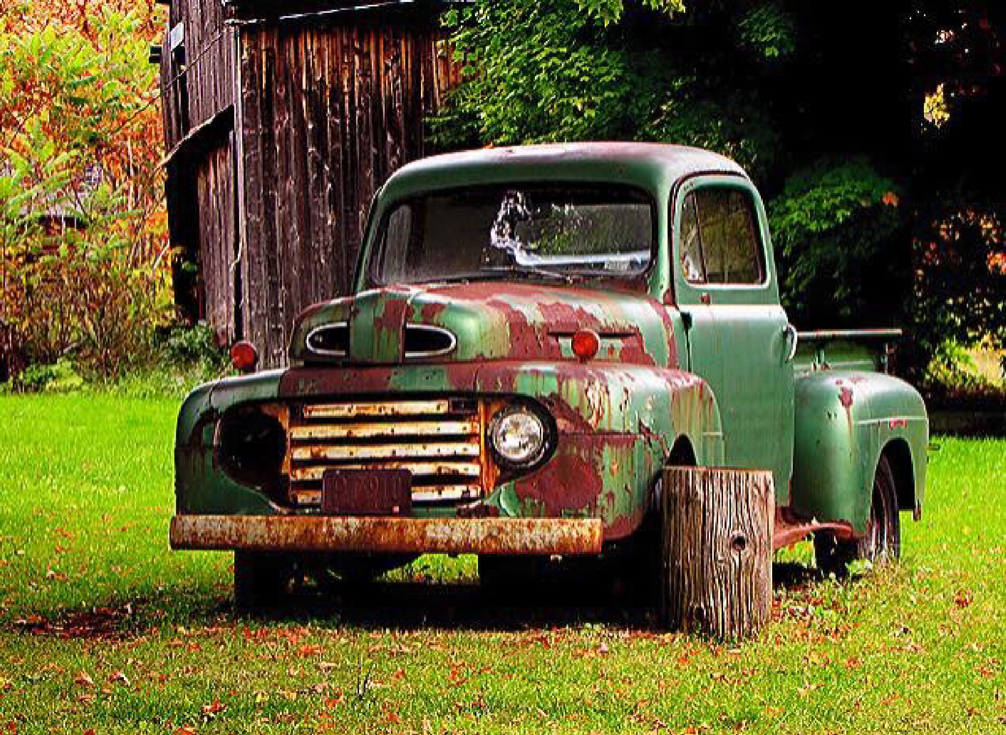 Farm Ford by Charlie Rhodes