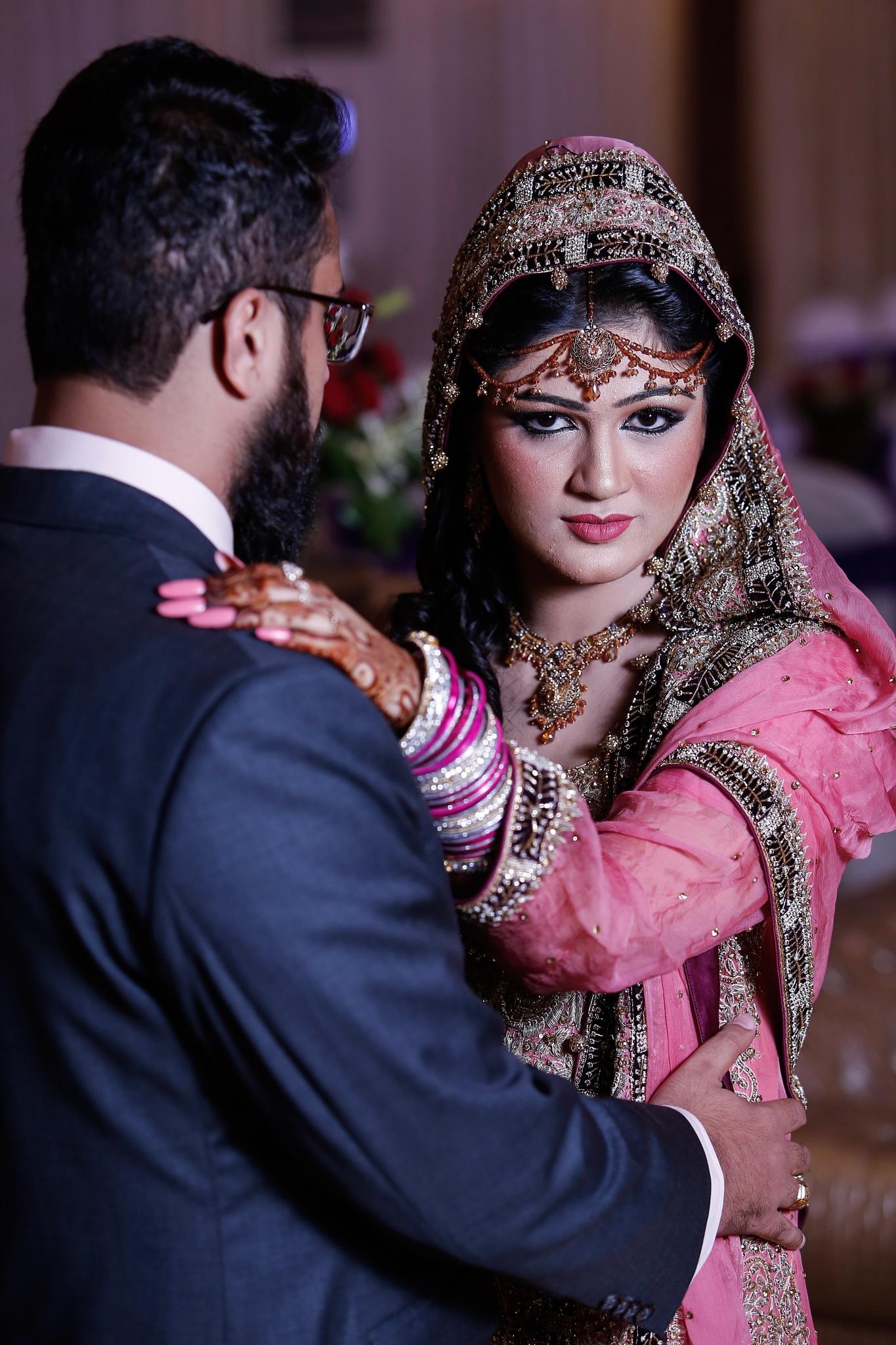 Bride in Pink iii by Sadat Ali