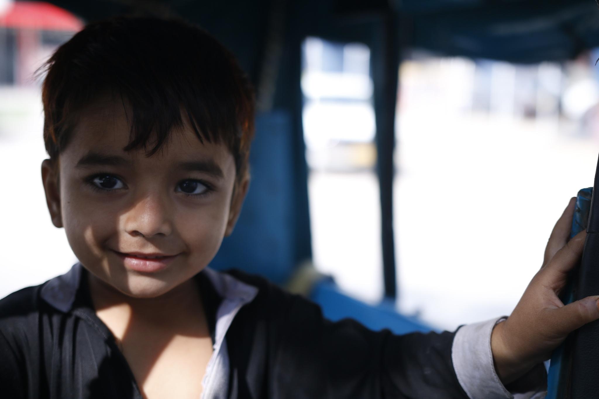 Pashtun Boy by Sadat Ali