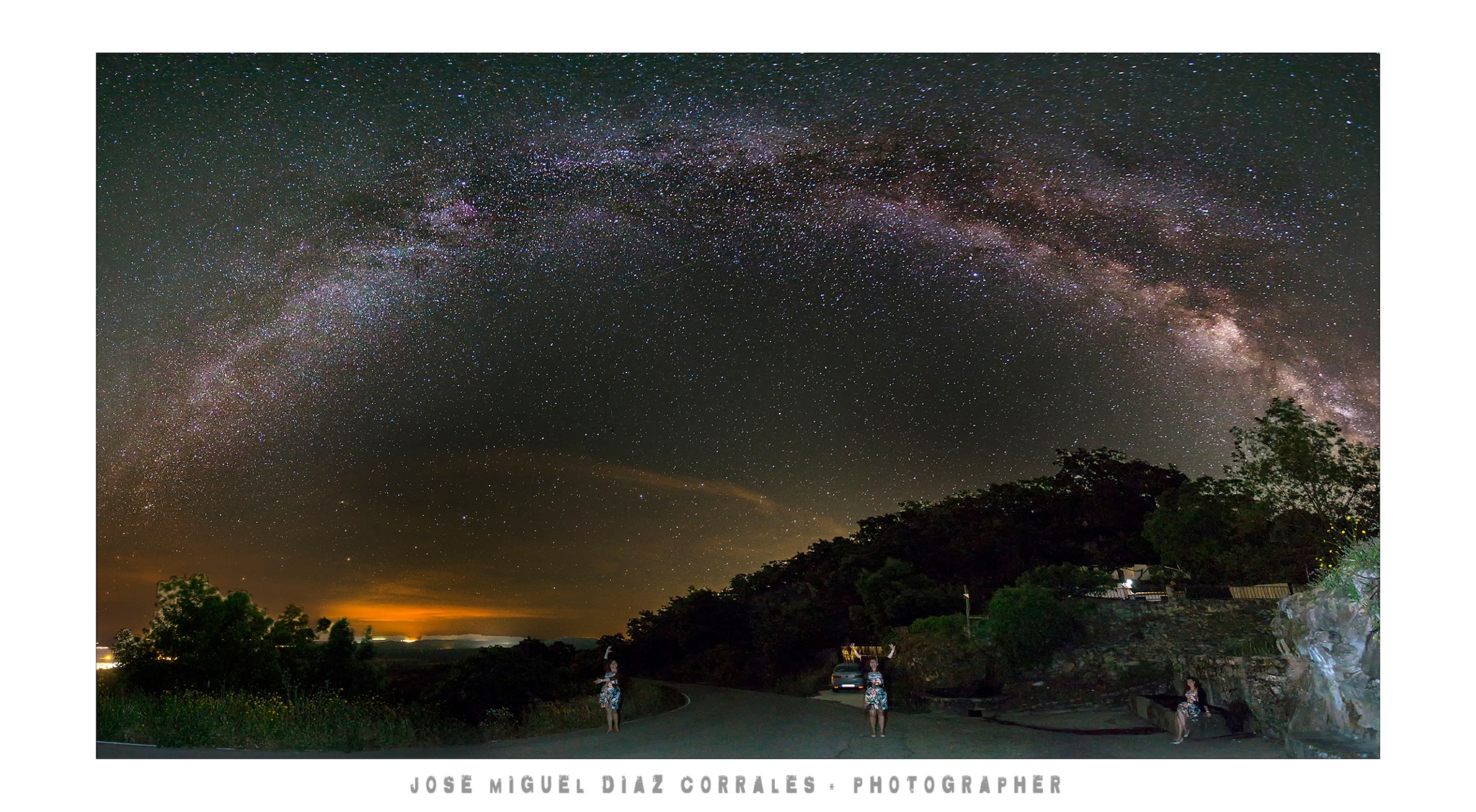 Photo in Astrophotography #noche #night #light #luces